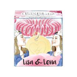Invisibobble Lisa & Lena - różowa gumka do włosów z zawieszką serca 1 szt. Czerwone ozdoby do włosów INVISIBOBBLE. Za 9,48 zł.