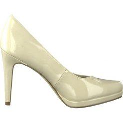 Buty ślubne damskie: Czółenka lakierkowane na szpilce Joie