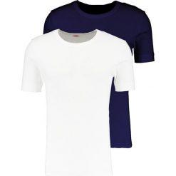 Koszulki polo: Armor lux LOT DE HERITAGE Tshirt basic blanc/rich navy