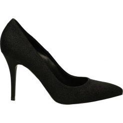 Czółenka - 1000-90 T NER. Czarne buty ślubne damskie Venezia, ze skóry. Za 249,00 zł.