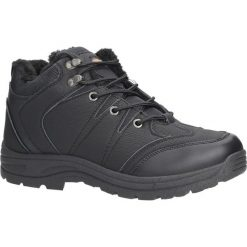 Czarne buty trekkingowe sznurowane Casu 313. Czarne buty trekkingowe męskie Casu, na sznurówki. Za 79,99 zł.