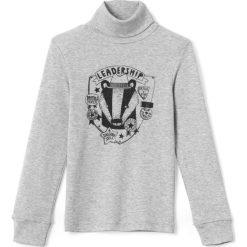 Golf 3-12 lat. Szare t-shirty chłopięce polo La Redoute Collections, z bawełny. Za 27,26 zł.
