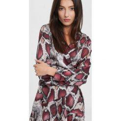 Bordowa Sukienka  Waking Up. Czerwone sukienki mini other, uniwersalny. Za 119,99 zł.