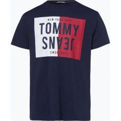 T-shirty męskie: Tommy Jeans - T-shirt męski, niebieski