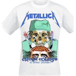 T-shirty męskie: Metallica Crash Course In Brain Surgery T-Shirt biały