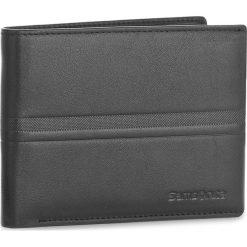 Duży Portfel Męski SAMSONITE - 001-015A0-0274-01 Black. Czarne portfele męskie marki Samsonite, ze skóry. Za 139,00 zł.