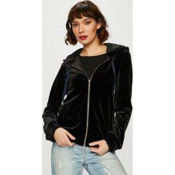 Silvian Heach - Bluza. Czarne bluzy z kapturem damskie Silvian Heach, l, z elastanu. Za 529,90 zł.