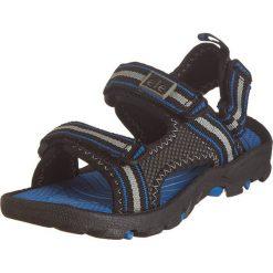 """Sandały trekkingowe """"Routt"""" w kolorze czarnym. Niebieskie buty trekkingowe chłopięce marki CMP, z materiału. W wyprzedaży za 78,95 zł."""