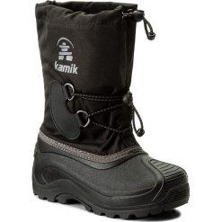 Buty zimowe chłopięce: Śniegowce KAMIK – Southpole4 NK4727 Black