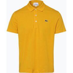 Lacoste - Męska koszulka polo, żółty. Żółte koszulki polo Lacoste, l, ze skóry. Za 249,95 zł.