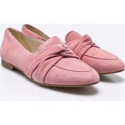Vagabond - Baleriny Eliza. Różowe baleriny damskie marki Vagabond, z materiału. W wyprzedaży za 269,90 zł.