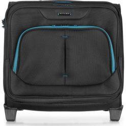 Neseser na kółkach 56-3S-634-19. Czarne torby na laptopa marki Wittchen, w paski. Za 479,00 zł.