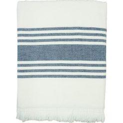 """Kąpielówki męskie: Fouta """"Karabouk"""" w kolorze niebiesko-białym – 160 x 90 cm"""
