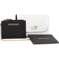 Duży Portfel Damski MY TWIN - RS8TCV  Bic Ottic 01045. Białe portfele damskie My Twin, ze skóry ekologicznej. W wyprzedaży za 229,00 zł.