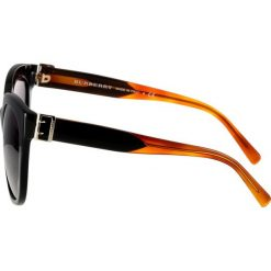 Burberry Okulary przeciwsłoneczne black. Czarne okulary przeciwsłoneczne damskie lenonki marki Burberry. Za 889,00 zł.