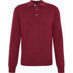 Swetry klasyczne męskie: Andrew James – Sweter męski z czystego kaszmiru, czerwony