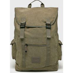 Caterpillar - Plecak Flash. Szare plecaki męskie Caterpillar, z bawełny. W wyprzedaży za 199,90 zł.