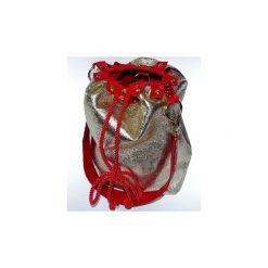 Torebki klasyczne damskie: Shine Czerwono-czarna torba
