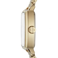 Armani Exchange Zegarek goldcoloured. Żółte zegarki damskie Armani Exchange. Za 799,00 zł.