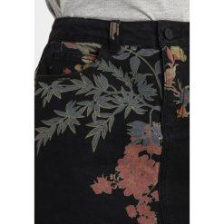 Minispódniczki: Noisy May NMSOPHIA SHORT FLOWER  Spódnica jeansowa black