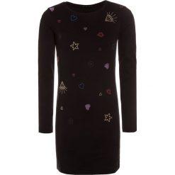 Sukienki dziewczęce z falbanami: Sisley DRESS Sukienka z dżerseju black