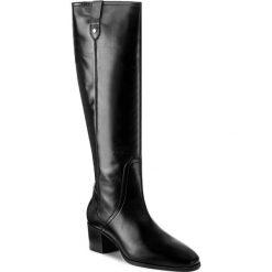 Kozaki GANT - Sandra 15581058 Black G00. Czarne buty zimowe damskie marki GANT, ze skóry, przed kolano, na wysokim obcasie, na obcasie. W wyprzedaży za 559,00 zł.