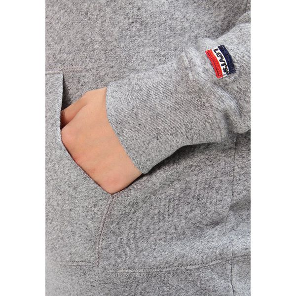 6c91610d7 Levi's® GRAPHIC SPORT Bluza z kapturem smokestack heather - Szare ...