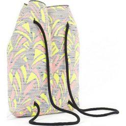 Plecak w kolorze szarym ze wzorem - (S)33 x (W)37 x (G)10 cm. Szare plecaki damskie Pijama, z materiału. W wyprzedaży za 149,95 zł.