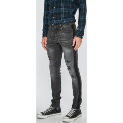 Jack & Jones - Jeansy Liam. Szare jeansy męskie regular Jack & Jones, z bawełny. W wyprzedaży za 199,90 zł.