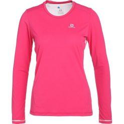 Salomon AGILE TEE Koszulka sportowa pink yarrow. Czerwone t-shirty damskie Salomon, xs, z poliesteru, z długim rękawem. W wyprzedaży za 179,10 zł.