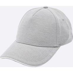 Tommy Hilfiger - Czapka. Szare czapki z daszkiem męskie marki TOMMY HILFIGER, z bawełny. W wyprzedaży za 159,90 zł.