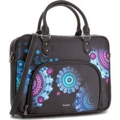 Torba na laptopa DESIGUAL - 18SAXFBW 2000. Czarne plecaki męskie marki Desigual. W wyprzedaży za 259,00 zł.