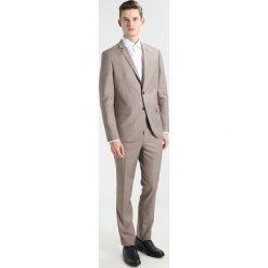 KIOMI Garnitur beige. Brązowe garnitury KIOMI, z materiału. W wyprzedaży za 356,30 zł.