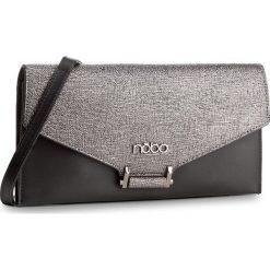 Torebka NOBO - NBAG-D3411-C020 Czarny Ze Srebrnym. Czarne torebki klasyczne damskie Nobo, ze skóry ekologicznej. W wyprzedaży za 109,00 zł.