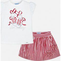 Bluzki dziewczęce bawełniane: Mayoral - Komplet dziecięcy (top + spódnica) 98-134 cm