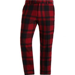 Chinosy męskie: Samsøe & Samsøe LAURENT CROP  Spodnie materiałowe high risk red