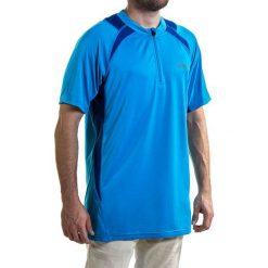 Koszulka męska ASICS - Hermes Ss 1/2 Zip 321313 8098 L. Niebieskie t-shirty męskie marki Asics, m. Za 119,00 zł.