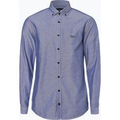 Joop - Koszula męska – Haven, niebieski. Szare koszule męskie marki JOOP!, z bawełny, z klasycznym kołnierzykiem, z długim rękawem. Za 349,95 zł.