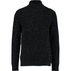 Swetry klasyczne męskie: Selected Homme SHNJANUS HIGH NECK Sweter caviar/egret naps