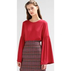 Bluzki damskie: NAKD BALLOON SLEEVE BLOUSE Bluzka dusty red