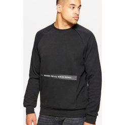 Bluza z kolekcji EQUAL - Czarny. Czarne bluzy męskie rozpinane marki WED'ZE, m, z materiału. Za 99,99 zł.