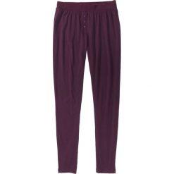 Piżamy damskie: Spodnie piżamowe bonprix czarny bez