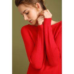 Swetry klasyczne damskie: SWETER DŁUGI RĘKAW DAMSKI Z ZAMKIEM KLASYCZNY