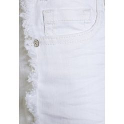Bermudy damskie: Cars Jeans KIDS RISSA  Szorty jeansowe white