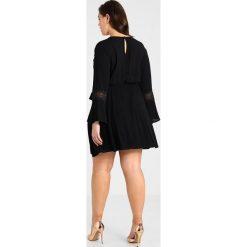 Sukienki hiszpanki: City Chic DRESS LACEY BELL Sukienka letnia black