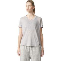 Bluzki damskie: Adidas Koszulka 3S Boyfriend Tee szara r. S (AY0184)