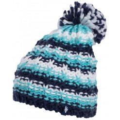 4F Czapka Damska H4Z17 cad011 Ciemny Granatowy S-M. Niebieskie czapki zimowe damskie marki 4f, z polaru. W wyprzedaży za 31,00 zł.