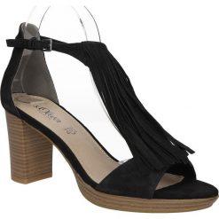 SANDAŁY S.OLIVER 5-28340-36. Czarne sandały damskie S.Oliver. Za 179,99 zł.