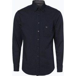 Fynch Hatton - Koszula męska łatwa w prasowaniu, niebieski. Niebieskie koszule męskie na spinki Fynch-Hatton, l, button down. Za 179,95 zł.