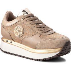 Sneakersy GUESS - FLTIF3 FAL12 BEIBR. Czarne sneakersy damskie marki Guess, z materiału. Za 499,00 zł.
